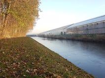 Greenhiuses Holandia Westland Obrazy Stock