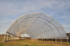 Greenhouse. Ready for nursery cultivation Stock Images