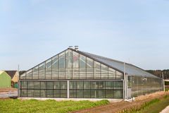 Greenhouse for agriculture Stock Photography