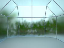 Greenhouse backdrop Stock Images