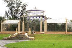 Greenhouse in the botanical gardens of Adelaide, Australia Royalty Free Stock Photos
