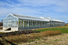 Greenhouse building Stock Image