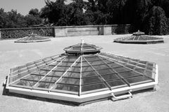 Greenhouse. In the castle garden Lednice - Valtice Royalty Free Stock Images