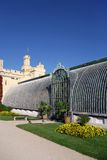 Greenhouse, Castle in lednice Royalty Free Stock Photo