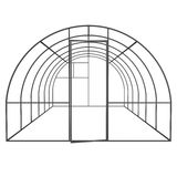 Greenhouse construction frame. Royalty Free Stock Image