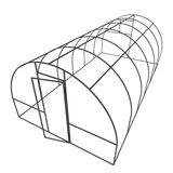 Greenhouse construction frame. Stock Photography