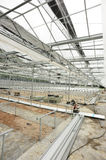 Greenhouse construction site Stock Photography
