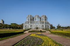 Greenhouse of Curitiba Botanical Garden - Curitiba, Parana, Brazil. Greenhouse of Curitiba Botanical Garden in Curitiba, Parana, Brazil Stock Photos