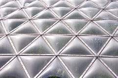Greenhouse detail of roof Royalty Free Stock Photos