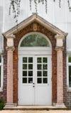 Greenhouse Door Royalty Free Stock Photography