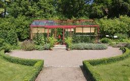 Greenhouse Driveway Stock Photography