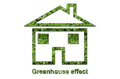 Greenhouse effect Royalty Free Stock Photo