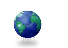 Greenhouse effect on earth Stock Photo