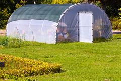 Greenhouse. Enclosure in a garden Royalty Free Stock Images