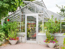 Greenhouse Exterior Royalty Free Stock Images