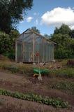 Greenhouse in garden Royalty Free Stock Photos