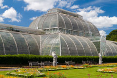 Greenhouse at Kew Gardens in London Royalty Free Stock Images
