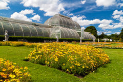 Greenhouse at Kew Gardens in London Stock Photo