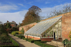 Greenhouse and kitchen garden, Beningbrough Hall Stock Images