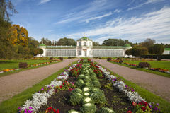 The Greenhouse in Kuskovo park,Moscow Stock Image