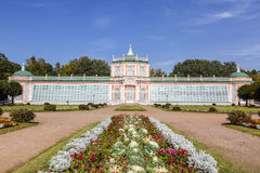 The Greenhouse in Kuskovo park Royalty Free Stock Image