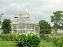 Greenhouse at The National Botanic Gardens of Dublin Royalty Free Stock Photos