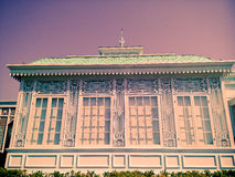 Greenhouse in Neo-Classical Style  in vintage Royalty Free Stock Photo