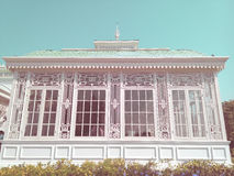 Greenhouse in Neo-Classical Style  in vintage style Stock Photos