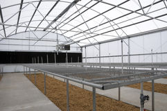 Greenhouse at New Middle School Stock Image