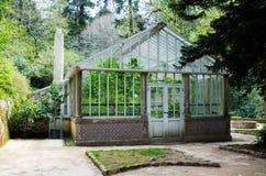 Greenhouse in Palacio da Pena garden, Sintra Royalty Free Stock Image