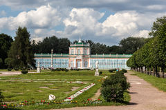 The Greenhouse. In the Park Kuskovo, Moscow royalty free stock photos