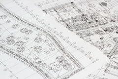 Greenhouse plan Royalty Free Stock Photography