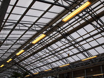 Greenhouse plant nursery Stock Photo