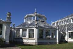 Greenhouse at The Royal Botanic Gardens, Kew, London, England, Europe Stock Photography