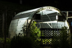Glowing Greenhouse Stock Images