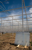 Greenhouse under construction Royalty Free Stock Photography