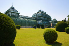 Greenhouse at Vienna Stock Photo