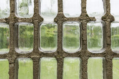 Greenhouse wall glass Royalty Free Stock Images