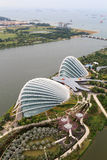 Greenhouses at Gardens by the Bay in Singapore Royalty Free Stock Image