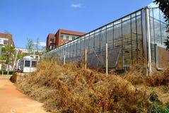 Greenhouses skeleton Stock Photo