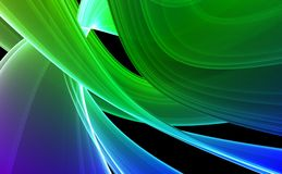 Greenish-blue abstract background Stock Image