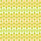 Greenish metaball seamless pattern Stock Image