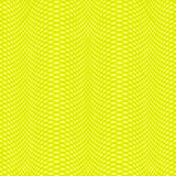 Greenish-Yellow Background. With Yellow Backdrop and Greenish Net Made by Crossing Parallel Lines. Vector EPS 10 Royalty Free Stock Image