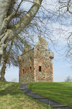 Greenknow tower scottish borders Stock Image