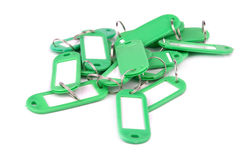 Greenl key fobs Royalty Free Stock Images