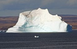 Greenland Arctic Iceberg Stock Photography