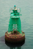 Greenland Buoy Royalty Free Stock Photography