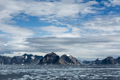 Greenland Coastline Royalty Free Stock Image