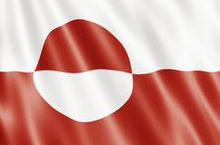 Greenland Flag Royalty Free Stock Photo