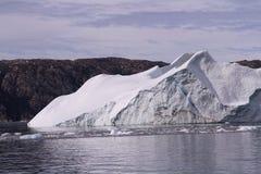 greenland góra lodowa Fotografia Royalty Free